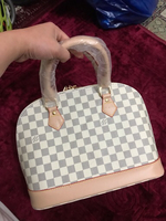 Used Lv White Bag big  in Dubai, UAE