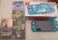Used Nintendo swith used clean with 3 games in Dubai, UAE