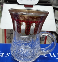 Used Glass tea cup 6 in Dubai, UAE