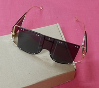 Used Punk style large frame sunglasses! in Dubai, UAE