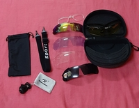 Used 5 lenses sunglasses in Dubai, UAE