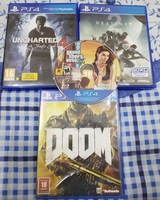 Used Selling All Four  PS4 Game CD's for 130 in Dubai, UAE