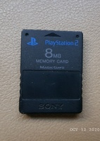 Used Memory card for PS2  8mb in Dubai, UAE