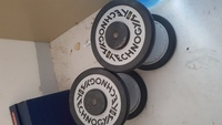 Used Techno gym Dumbbells 2x 10kg in Dubai, UAE