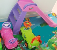 Used Slid for toddler and 2 cars extra in Dubai, UAE