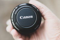 Used Canon EF 50mm f/1.8  Lens - Black in Dubai, UAE