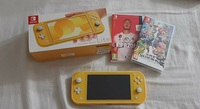 Used Nintendo Switch Lite (2 games included) in Dubai, UAE