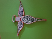 Used Christmas tree decoration handmade in Dubai, UAE