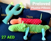 Used Pillow Plushies in Dubai, UAE