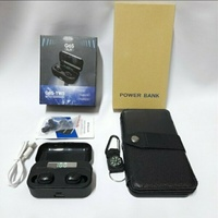 Used TWS Airpods With Solar Power Bank 🎁 in Dubai, UAE