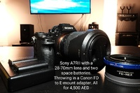 Used Sony A7RII with a 28-70mm lens in Dubai, UAE