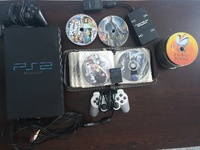 Used PS2 with CDs +PS1 CDs in Dubai, UAE