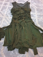 Used Brand new cocktail dress with fringe in Dubai, UAE