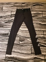 Used Adidas stacked logo tights size Small in Dubai, UAE