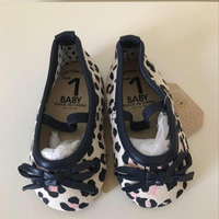 Cotton On Animal Print Ballerinas Size EU17/UK1. Never Worn Was A Gift.