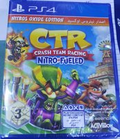 Used Ps4 Video Game Crash Team Racing (New) in Dubai, UAE