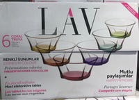 Used 6 pcs LAV bowls - only till 20th June in Dubai, UAE