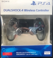 Used PS4 Controller black steel new model in Dubai, UAE