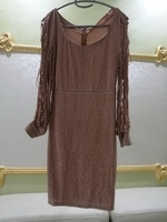 Used METAL SEQUIN DRESS WAIST SIZE M in Dubai, UAE