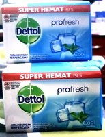 Dettol super Hemat profresh 4 pieces