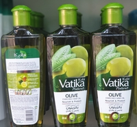 Used Vatika naturals olive enriched hair oil in Dubai, UAE