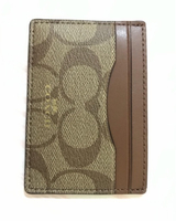 Coach cardholder leather