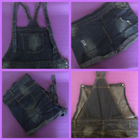 Used Jumpsuit Denim 3XL/ TShirt/XL in Dubai, UAE