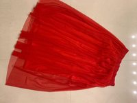 Red skirt size S/M stretchy
