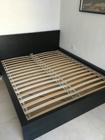 Used Bed frame with Mattress & Bedside table in Dubai, UAE