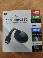 Used Chromecast TV streaming device by Google in Dubai, UAE