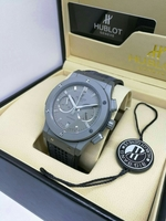 "HUBLOT ""Cement Grey"" MEN'S WATCH ⌚"