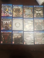 Used Playstation 4 games ps4 games in Dubai, UAE