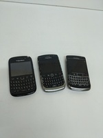3 blackberry * dead / damaged / not work