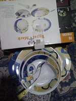 Used Royal melamine dinner set 16 piece in Dubai, UAE