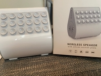 Used Wireless speaker with silicon suction  in Dubai, UAE