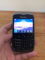 Used Blackberry phone black in Dubai, UAE