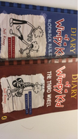 Used Diary of a wimpy Kid books 2+7 double in Dubai, UAE
