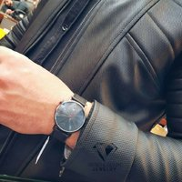 Used Original TOMI Leather Watch □New withBox in Dubai, UAE