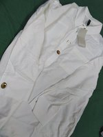 Used White shirt for women, size M, Defacto in Dubai, UAE