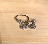 Used Earrings and ring Pandora  in Dubai, UAE