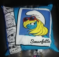 Used Smurf Throw Pillow2 in Dubai, UAE