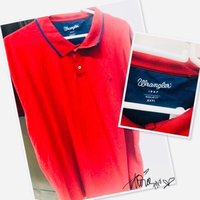 Used Wrangler Polo shirt Red XXXL💙 in Dubai, UAE