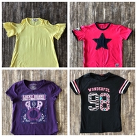 Used T-shirts for girls size 8-9 yo bundle  in Dubai, UAE