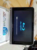 Panasonic Blue ray DVD Portable player 9
