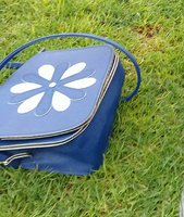 Used Ladies Floral Handbag (Blue) in Dubai, UAE