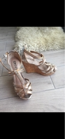 Used DKNY wedge sandals 6.5/37 in Dubai, UAE