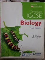 Used Cambridge biology igcse 3^ edi(CD includ in Dubai, UAE