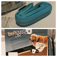Used Dog collar & Leash & BarkStop collar in Dubai, UAE