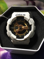 Used Original Baby-G watch white & Gold in Dubai, UAE