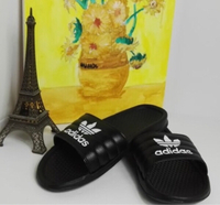 Used New Adidas Slides, Black in Dubai, UAE